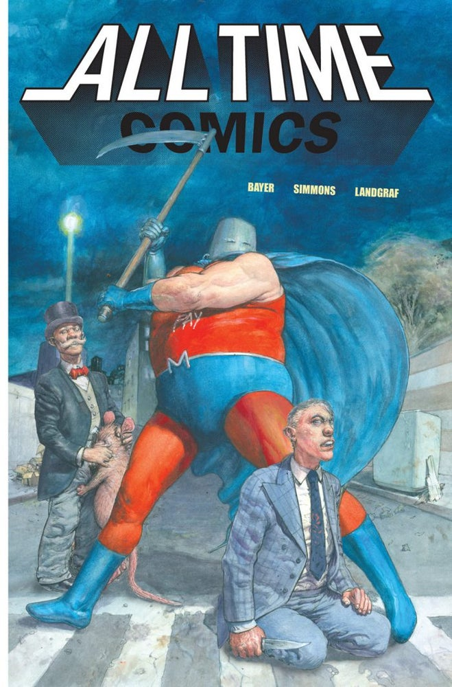 Image of All Time Comics Zerosis Deathscape #0