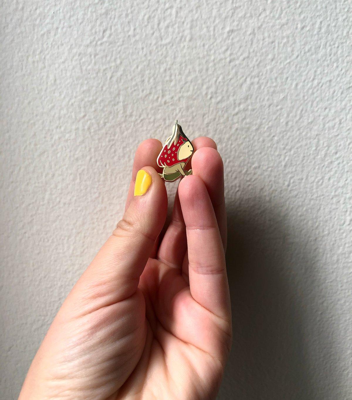 Image of Strawberry Demon Pin