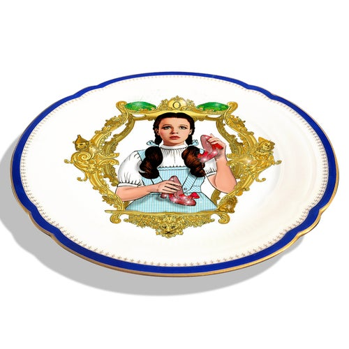 Image of The Wizard of OZ - Vintage fine china Plate - #0708