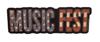 Sticker - MusicFest Flag (small)