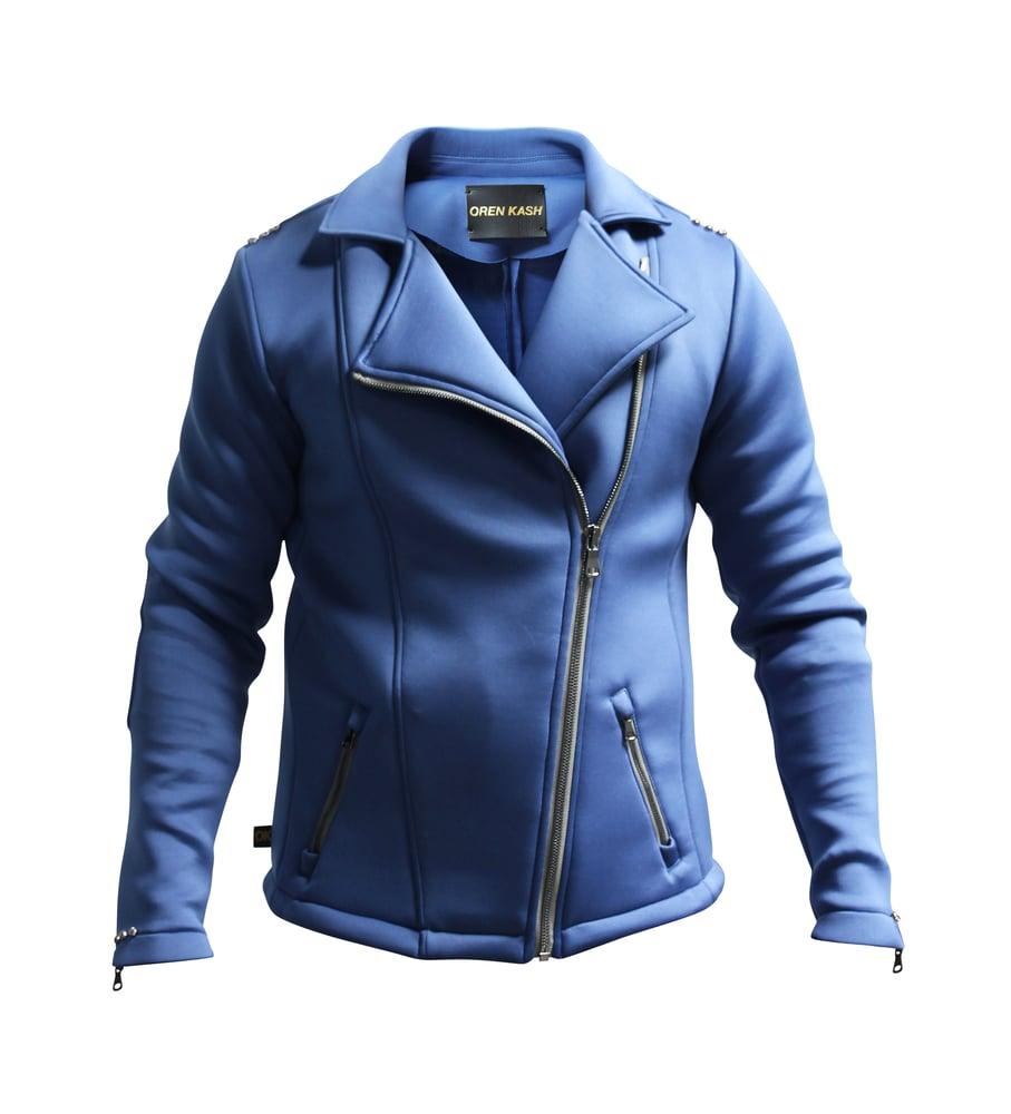 Image of Solid Super Scuba Moto Jacket