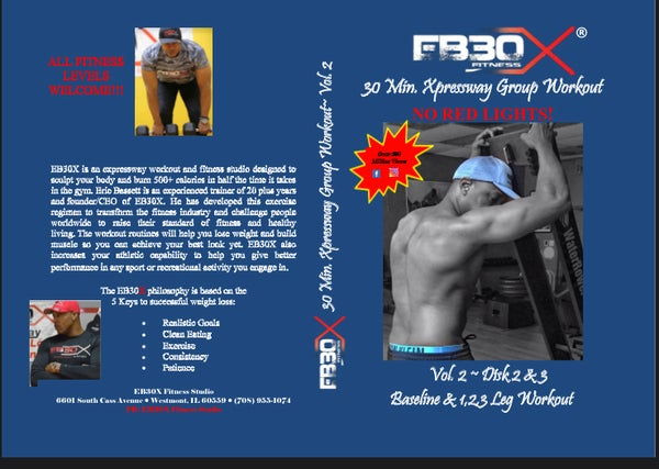 Image of EB30X Group Workout Double DVD ~ Vol. 2