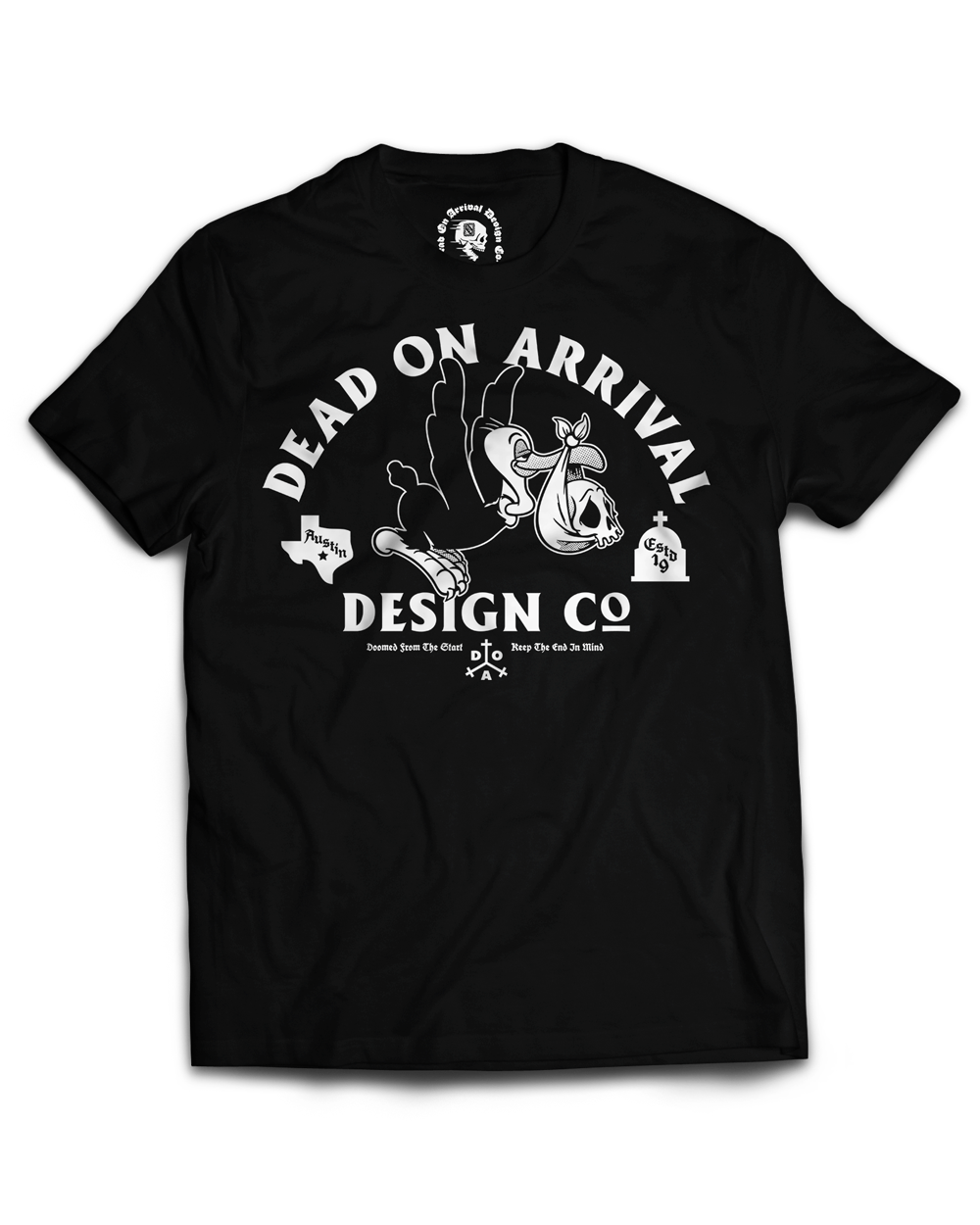 """""""Vulture Baby"""" / Graphic Tee, Black"""