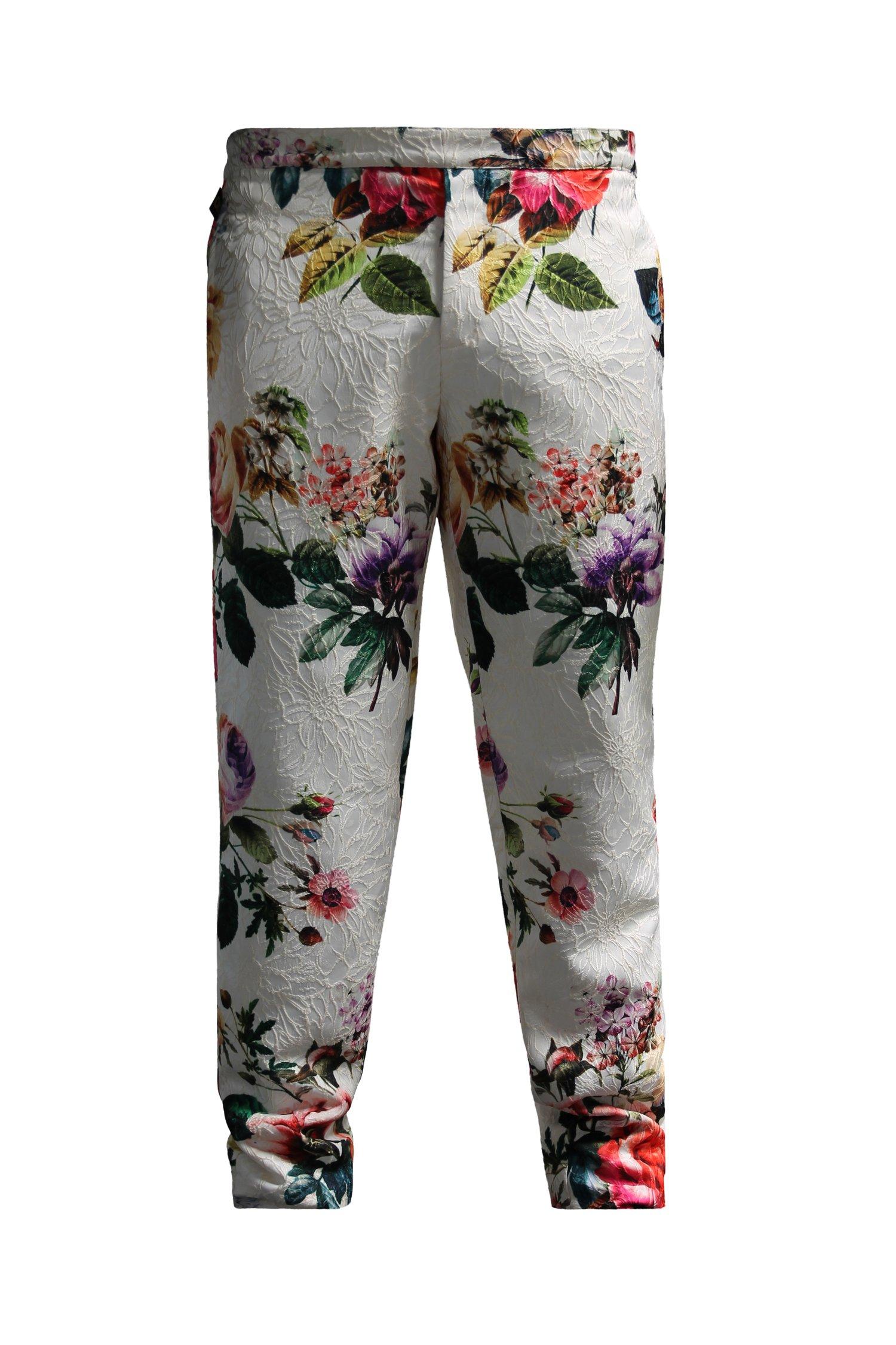 Image of Printed Brocade Pant