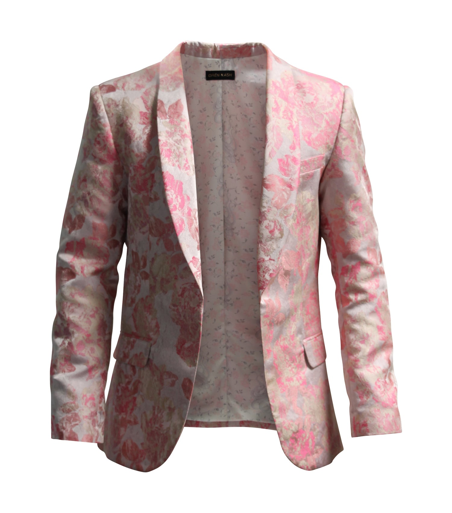 Image of Floral Brocade Blazer