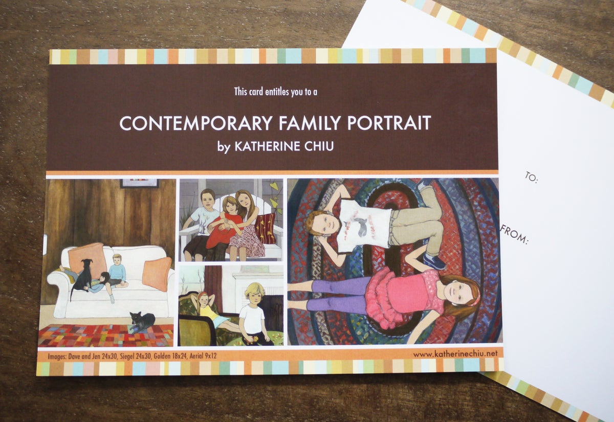Image of Portrait Gift Certificate