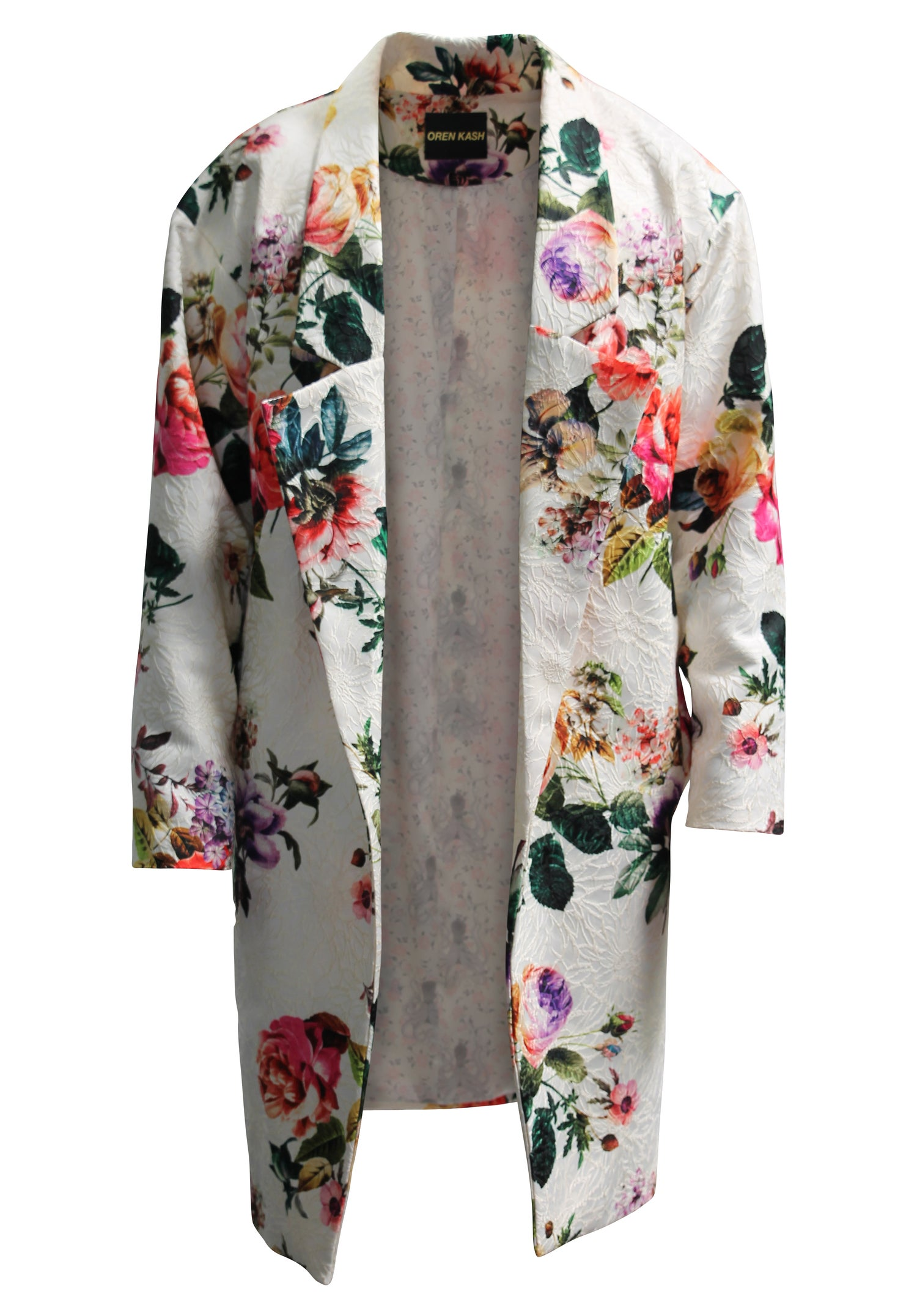 Image of Printed Brocade Trench