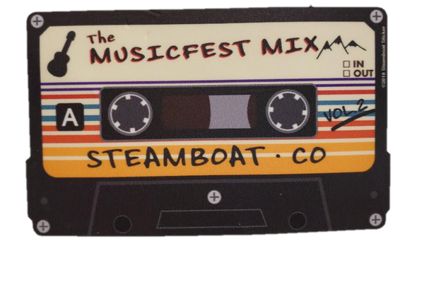 Image of Sticker - Mix Tape (big)