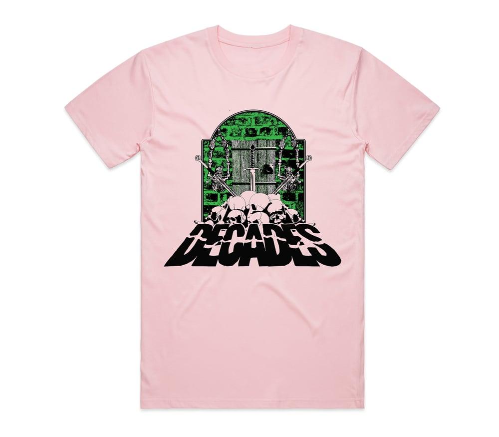 Image of Dungeon of Doom Tee Pink