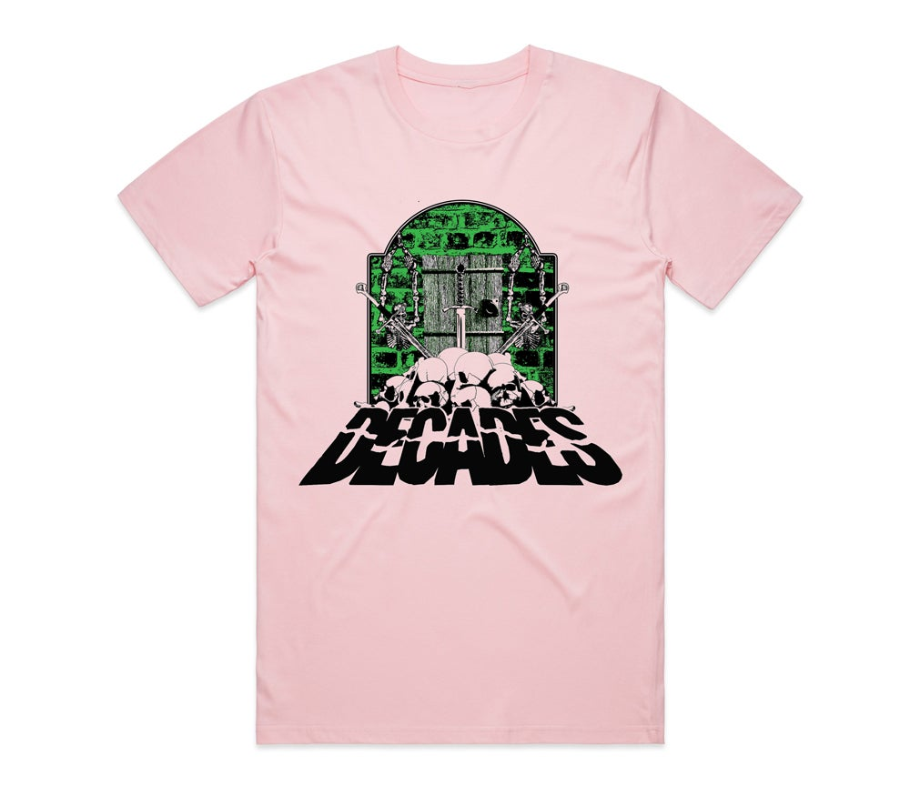 Image of Dungeon of Doom Tee Pink