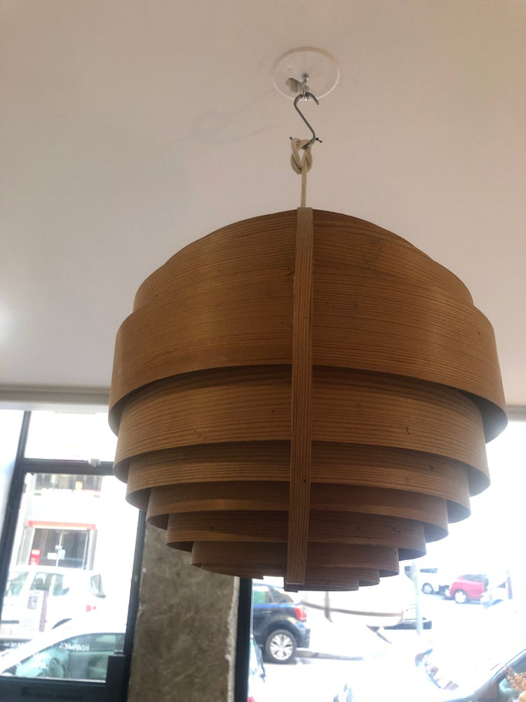 Image of Lampe suspension spirale