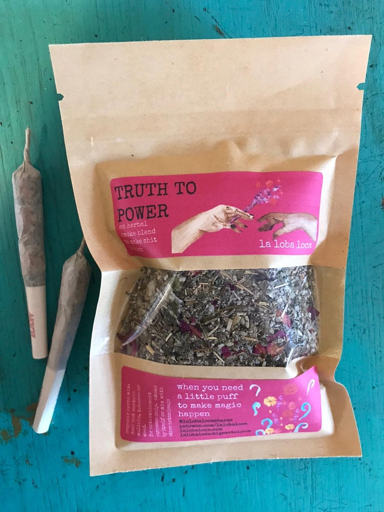 Image of TRUTH TO POWER HERBAL SMOKE BLEND (1oz)