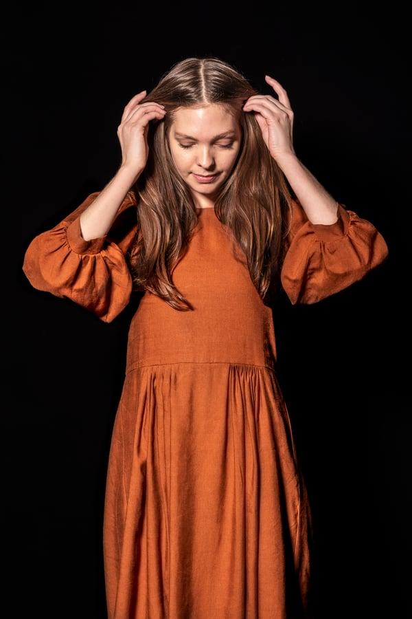 Image of Claudia Dress - Brick