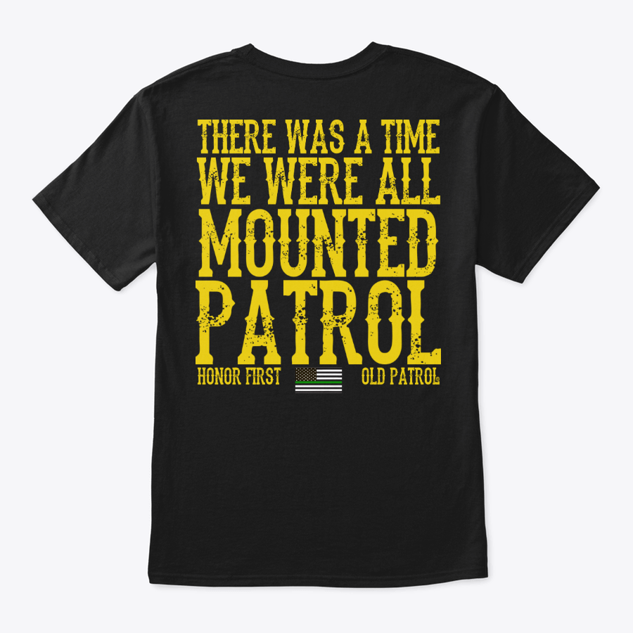 Image of HORSE PATROL SERIES #1 - THERE WAS A TIME WE WERE ALL MOUNTED PATROL