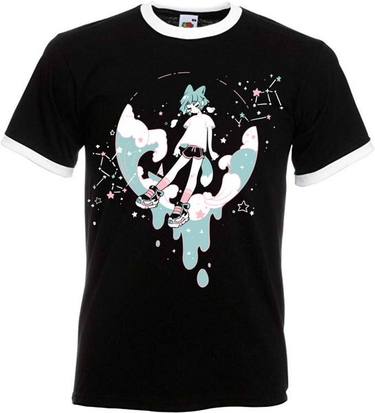 Image of Wave boy ringer shirt