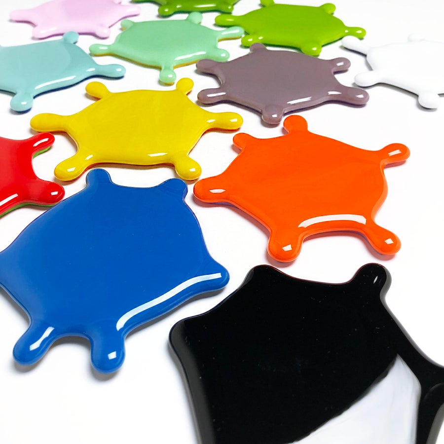 Image of Individual Splat Coasters