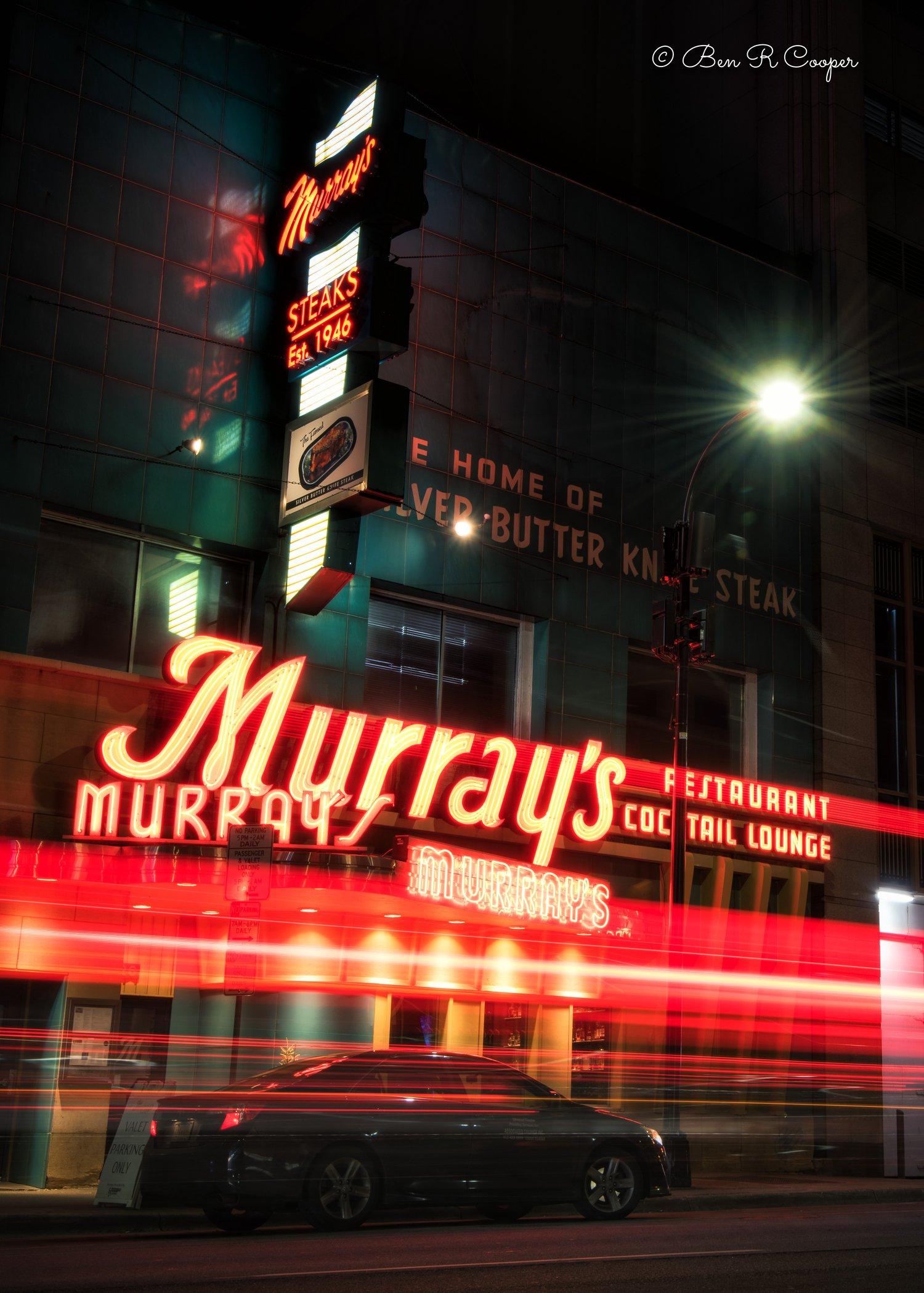Friday night at Murray's