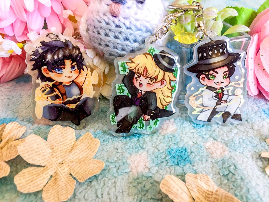 Image of Jojo's Bizarre Adventure Phantom Blood Acrylic Charms