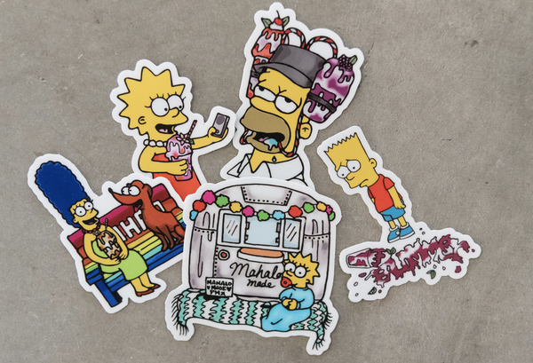 Image of MAHALO Family Sticker Pack