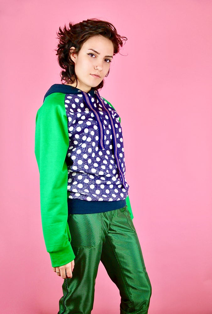 Image of Sweat Pop Vert NOuvelle collection