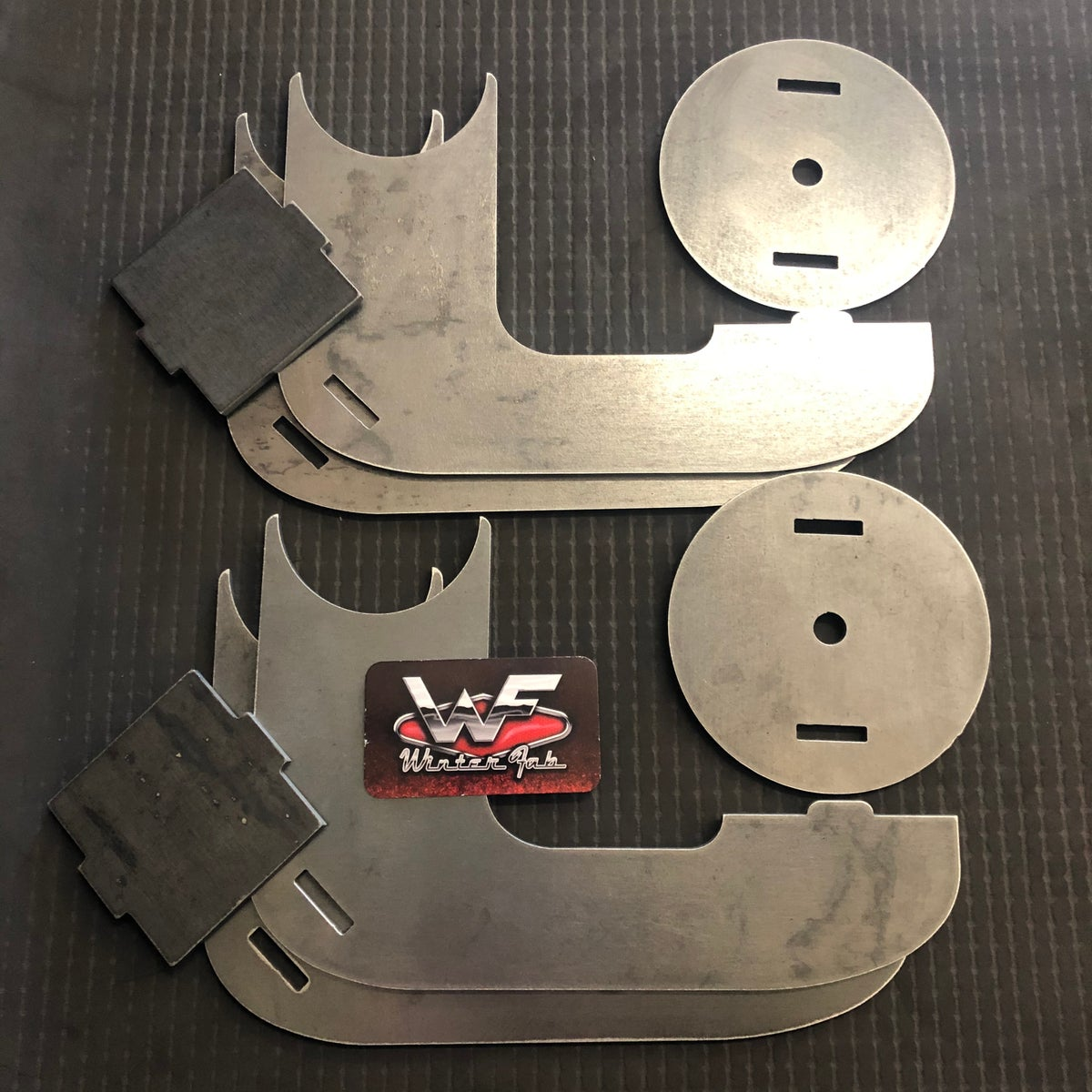 Image of Behind and Under Axle Bag Brackets