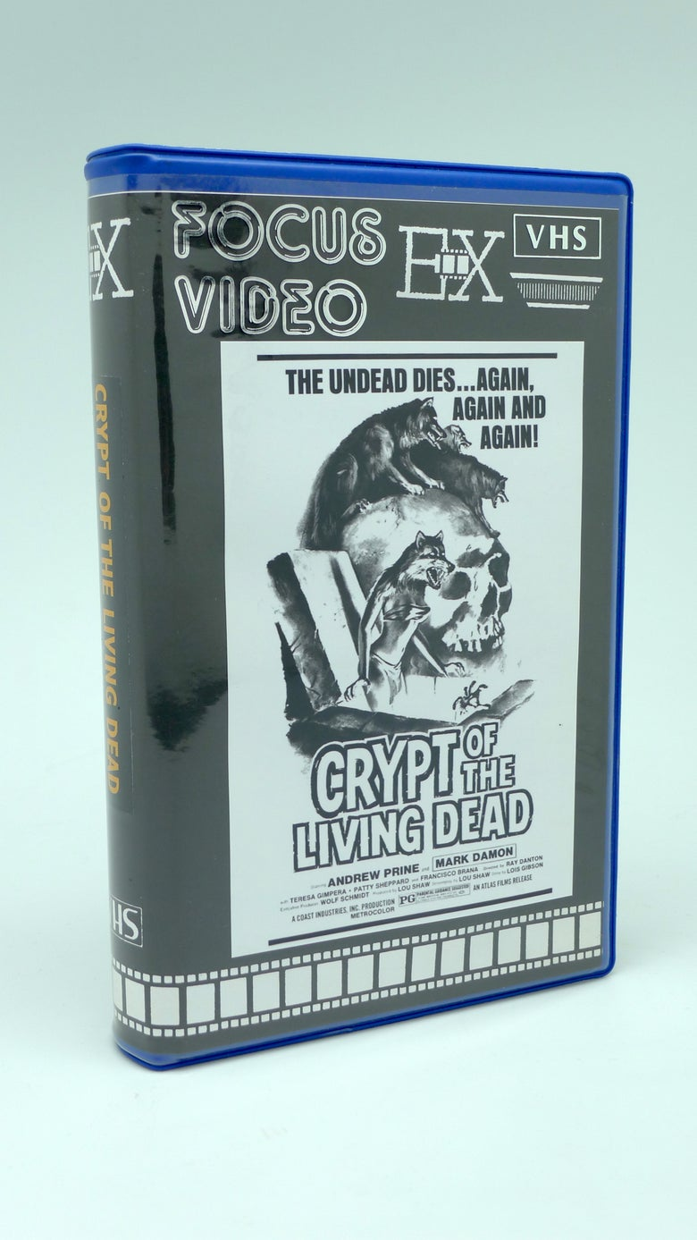 Image of CRYPT OF THE LIVING DEAD (1973) VHS