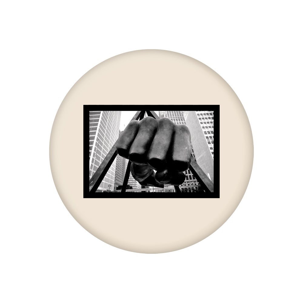 """Image of Fist (2.25"""" Button)"""