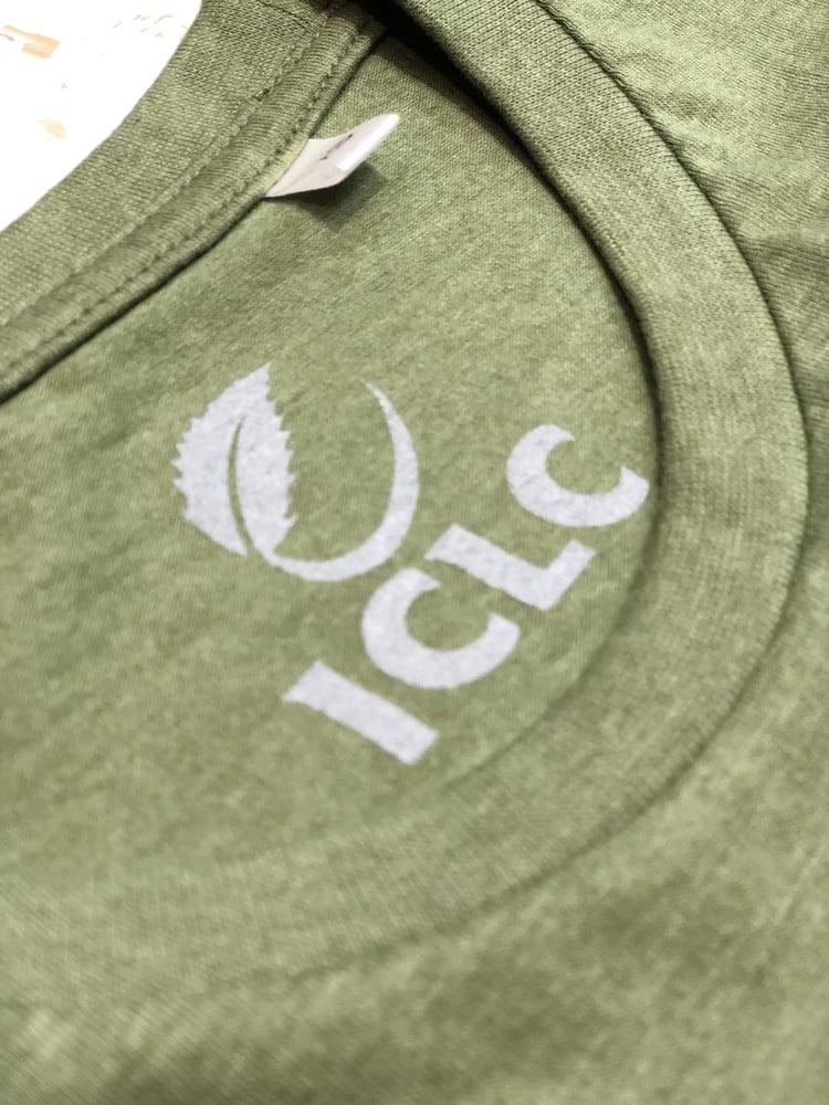 Image of T-Shirt Sanglier Ici c'est la Corrèze kaki