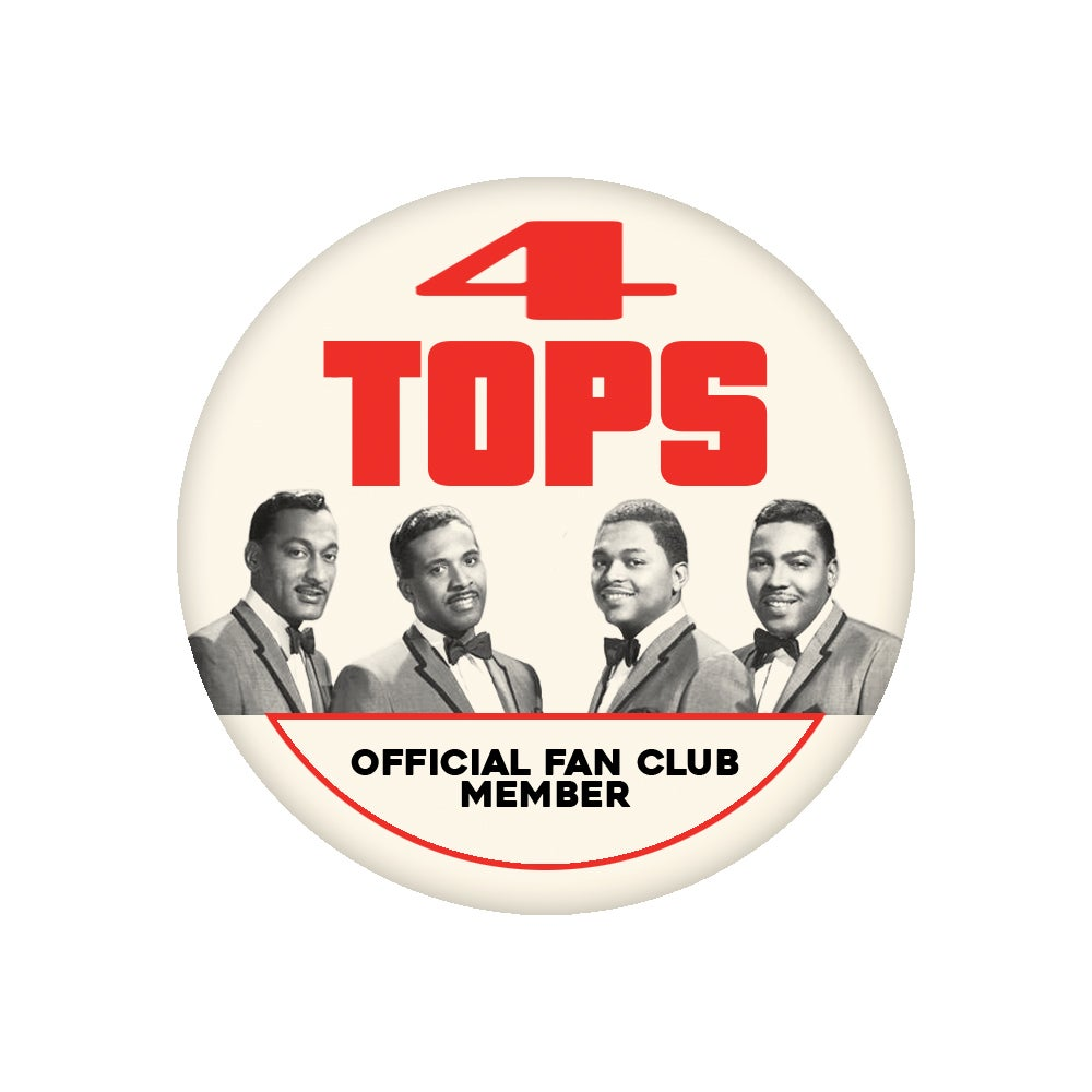 "Image of Four Tops - Motortown Collection (2.25"" Button)"