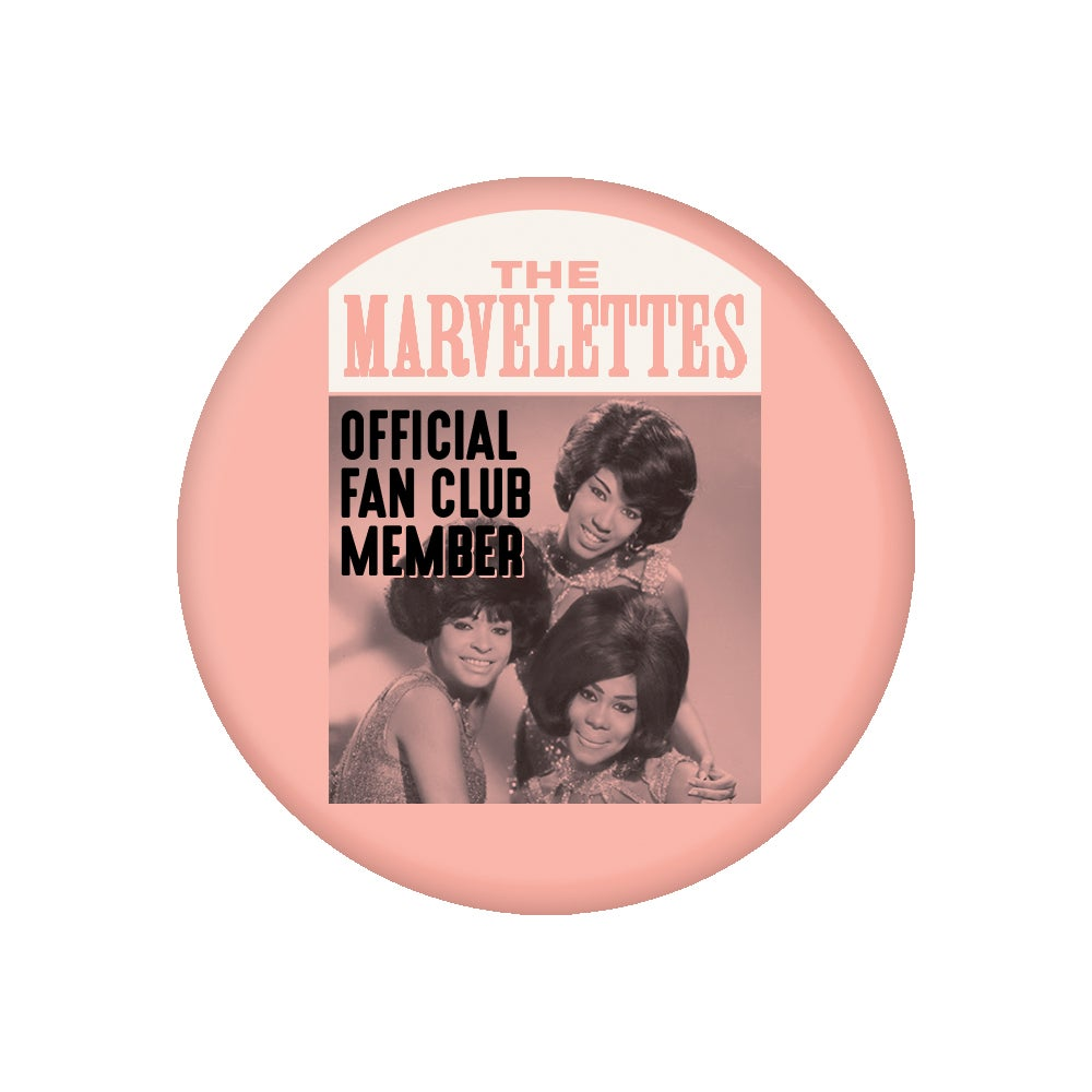 """Image of Marvelettes - Motortown Collection (2.25"""" Button)"""