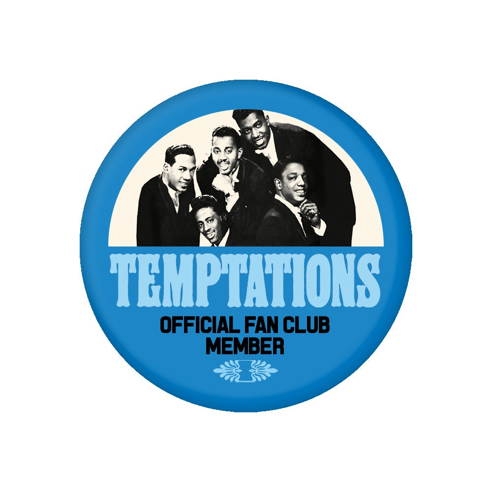 """Image of Temptations - Motortown Collection (2.25"""" Button)"""