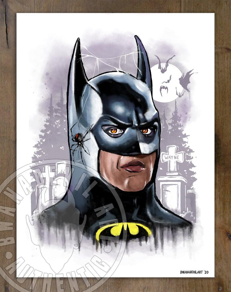Image of Batman (Bruce Wayne) art print