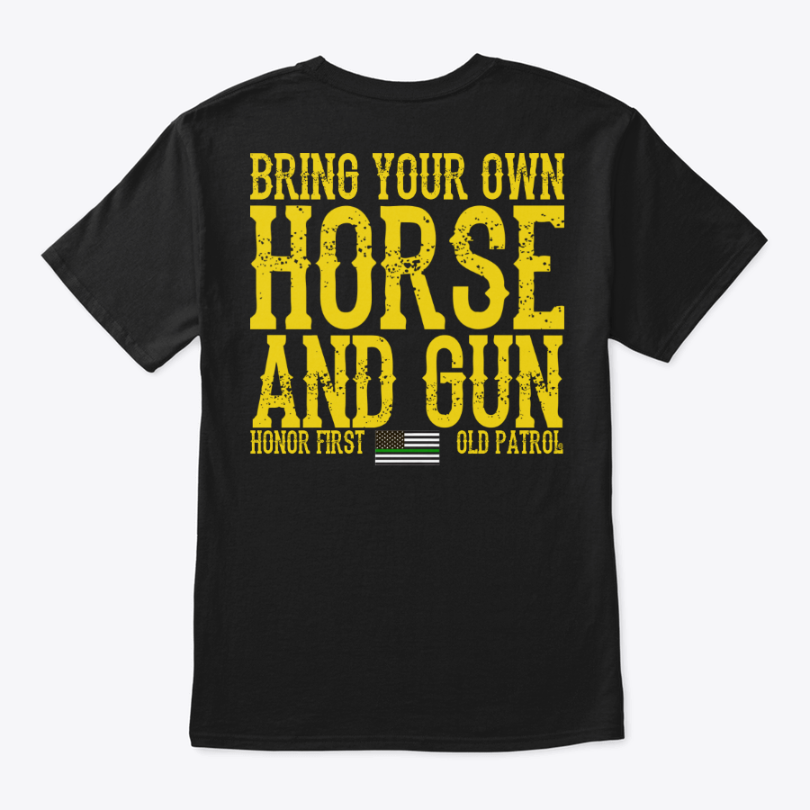 Image of HORSE PATROL SERIES #2 - BRING YOUR OWN HORSE AND GUN