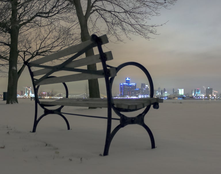 Image of Winter Bench
