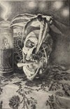 HOLY DEATH original graphite drawing