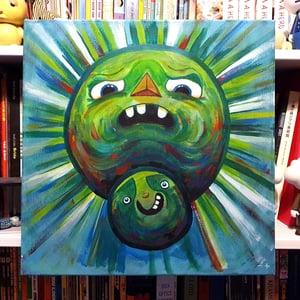 Image of Outta My Way, Sucka (acrylic on canvas)
