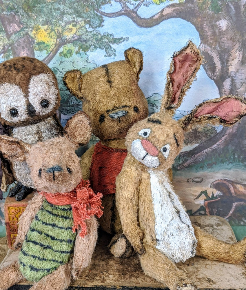 Image of New Design: traditional style Rabbit from Pooh and friends...by whendis bears