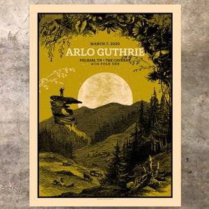 Image of Arlo Guthrie, The Caverns 03.07.20