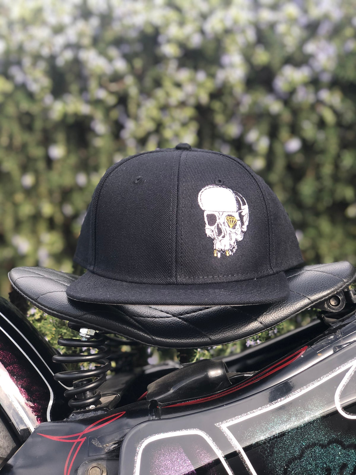Image of Traditional Skull SnapBack