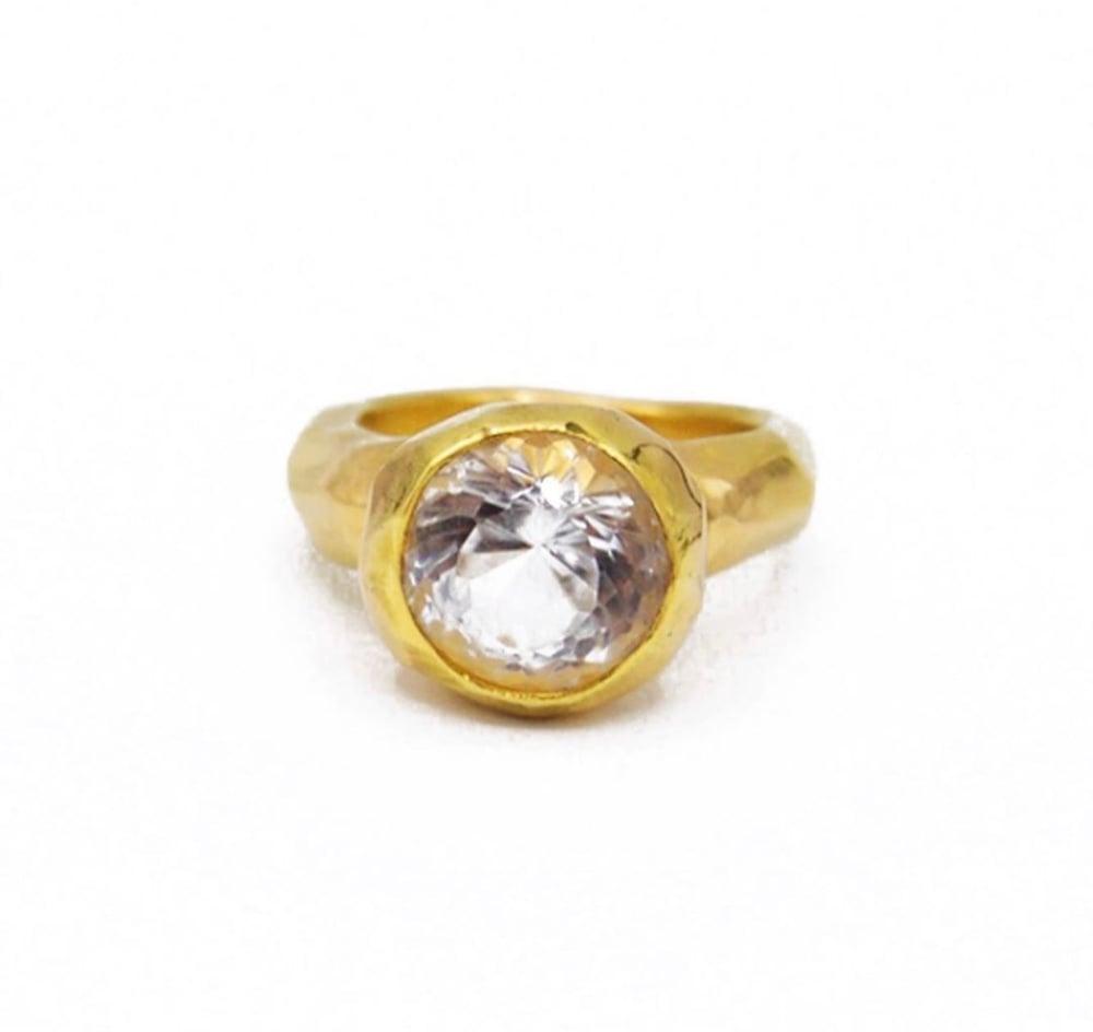 Image of Topaz ring
