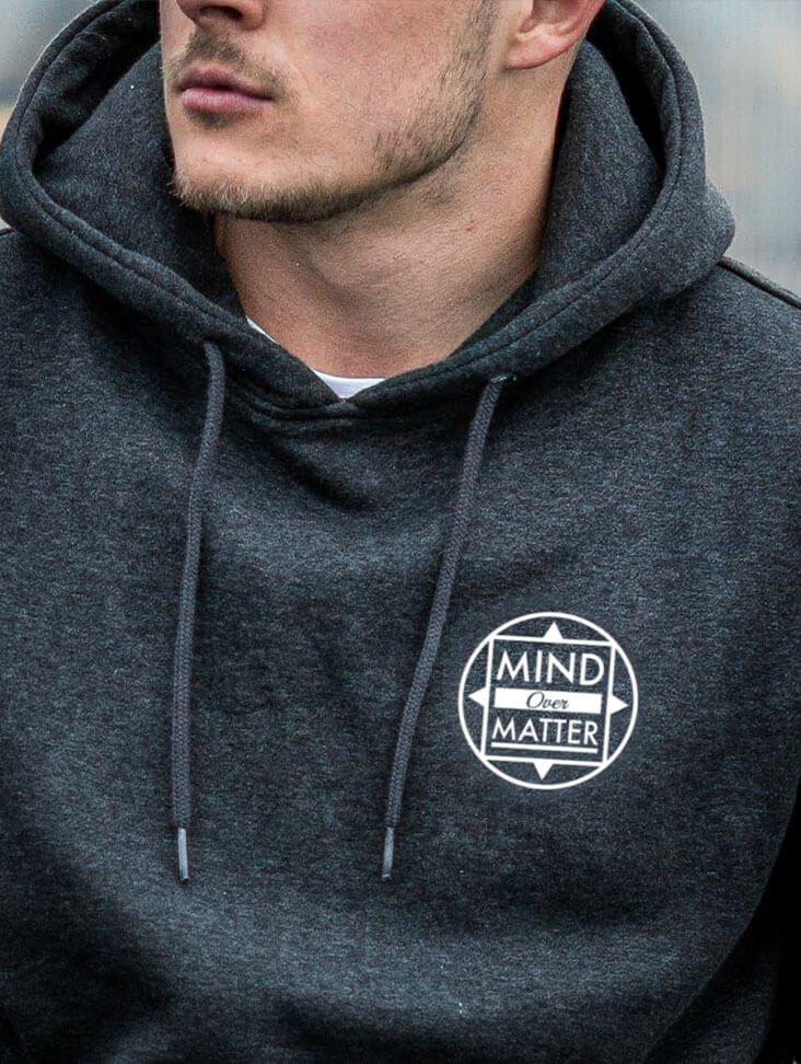 Image of NOW Hoodie Unisex | Charcoal