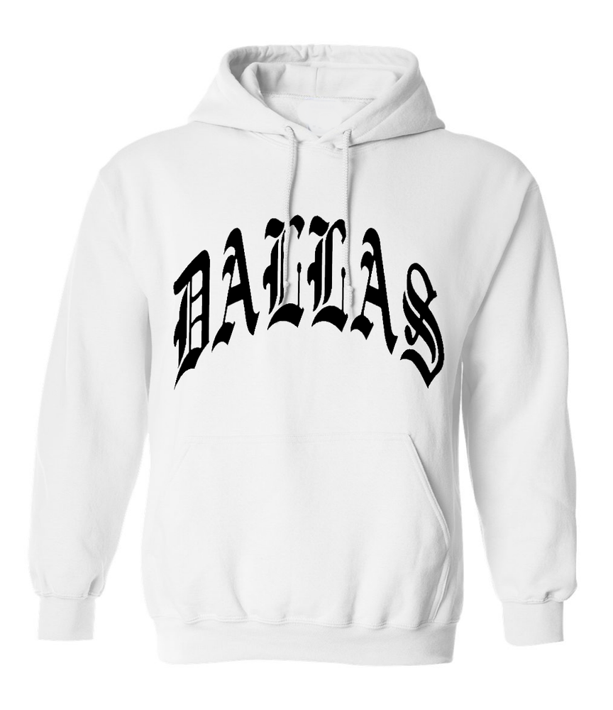 Image of DALLAS HOODIE WHITE