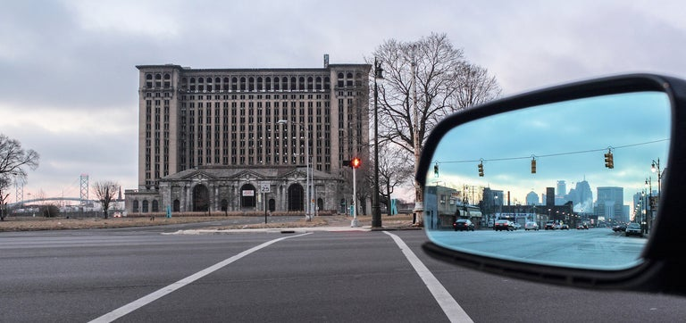 Image of Looking back at Detroit