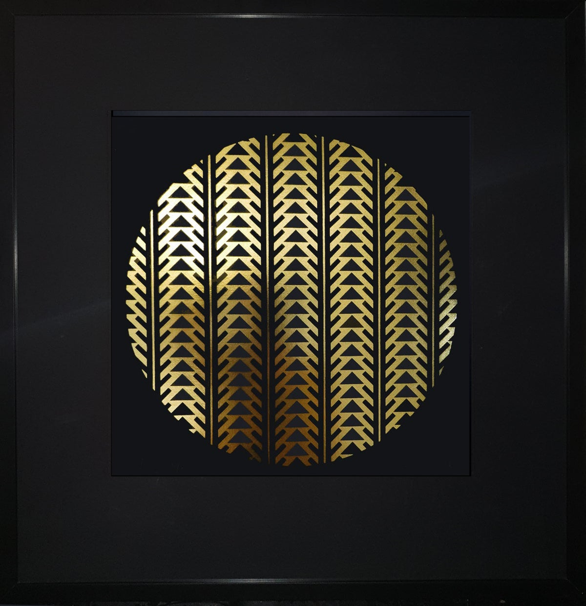 Image of 'Ascension' Limited Edition Gold foil screenprint