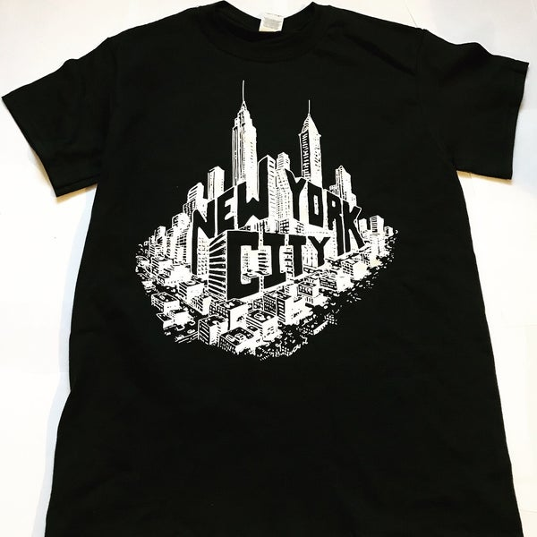 Image of Kurt Boone X Greg Ugalde AuthenIc New York Tee Black