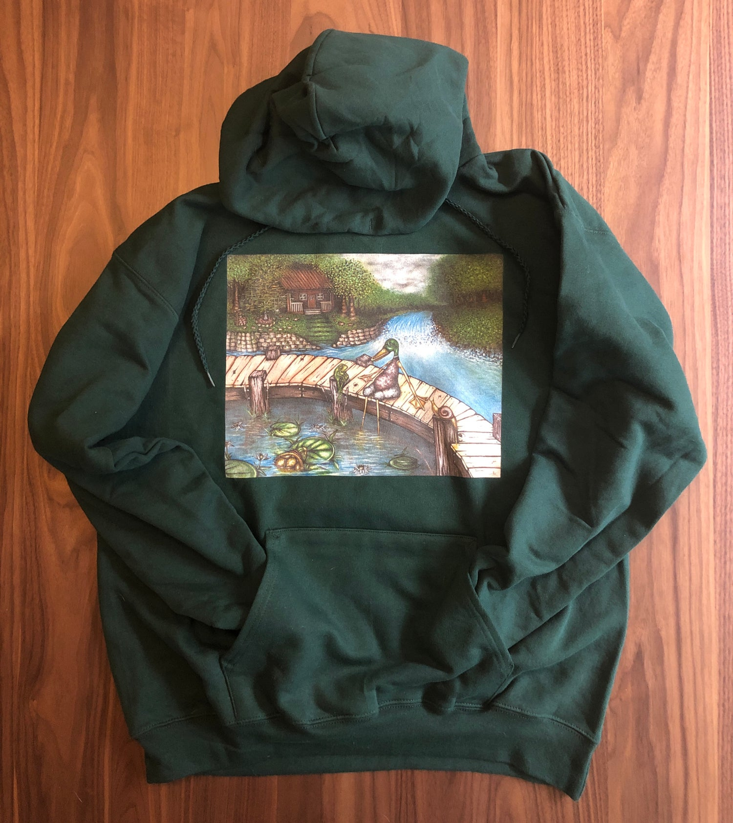 Image of The End. (or The swamp is right where I should be) Hoodie