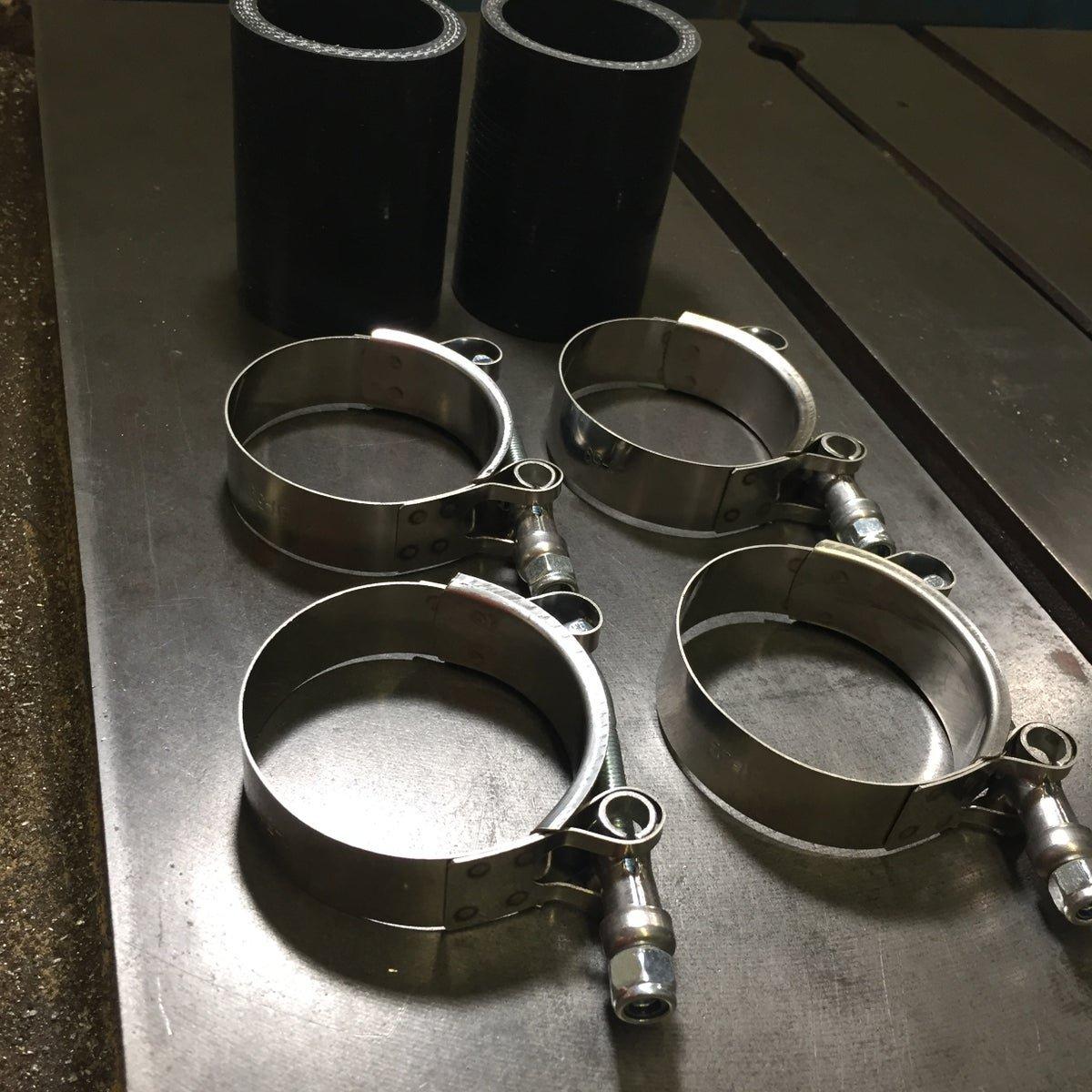 6.0 Powerstroke Stainless Steel Radiator Tube