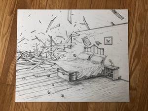 Image of Kids bedroom falling apart