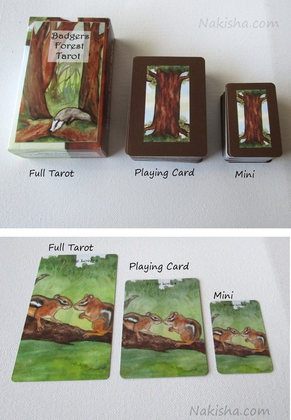 Image of The Badgers Forest Tarot