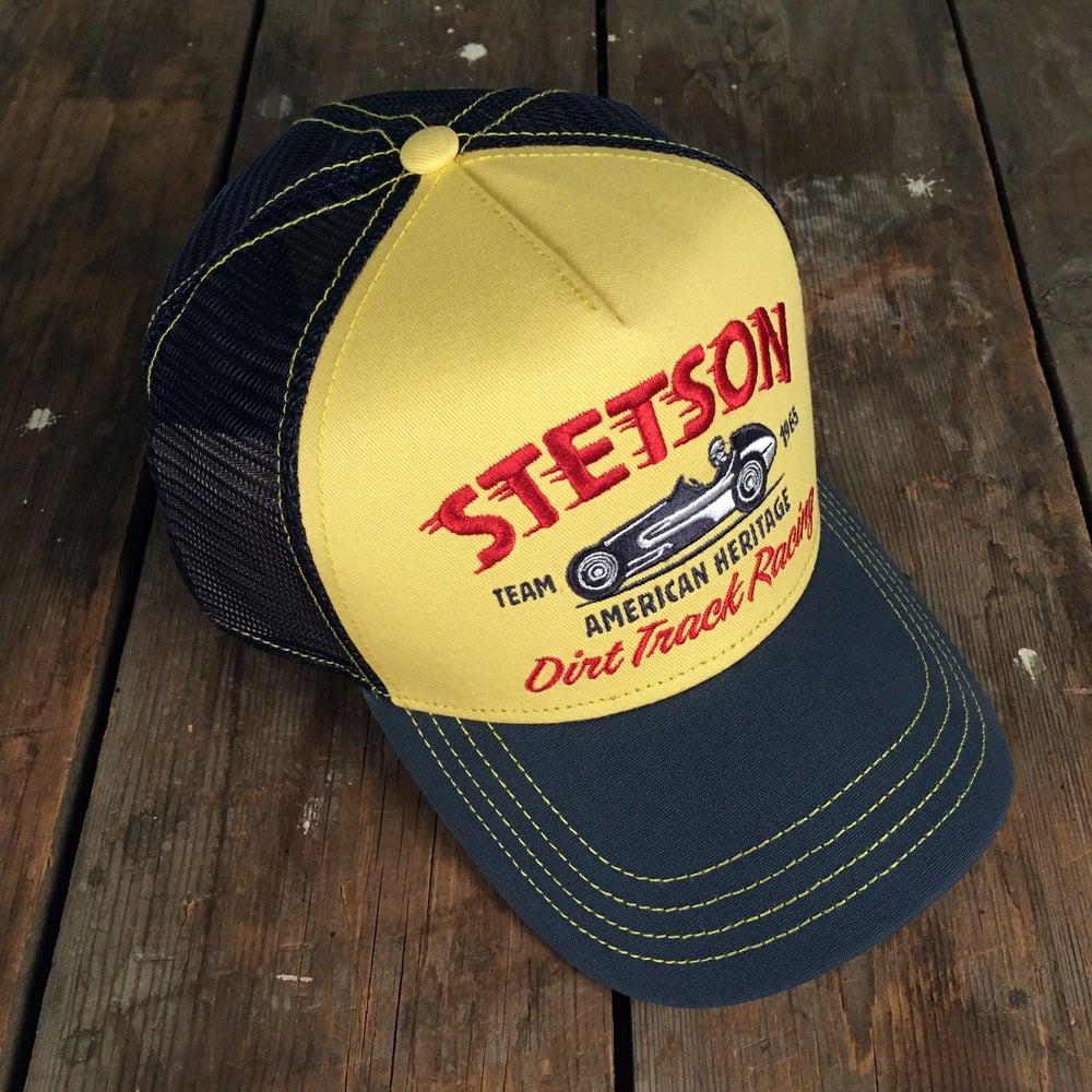 "Image of STETSON MESH CAP ""DIRT TRACK RACING"""